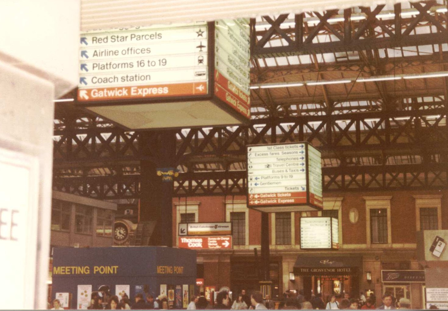 Liverpool street station, London, 198x