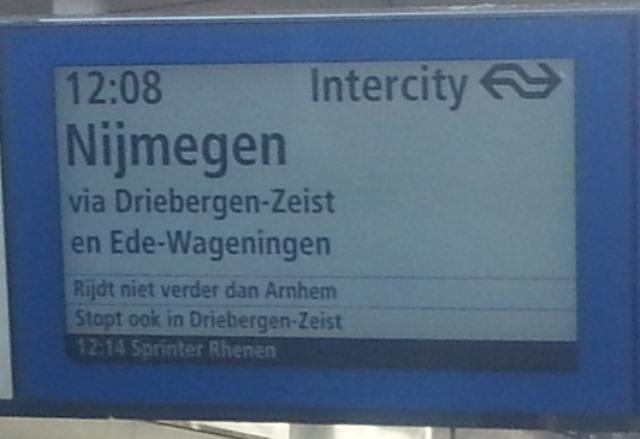 informatie ns treinen