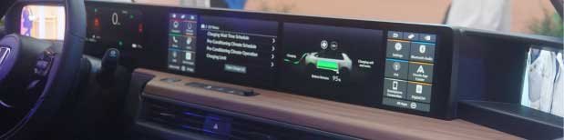 auto dashboard navigatie toekomst honda