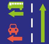 verkeersbord toekomst verboden inhalen