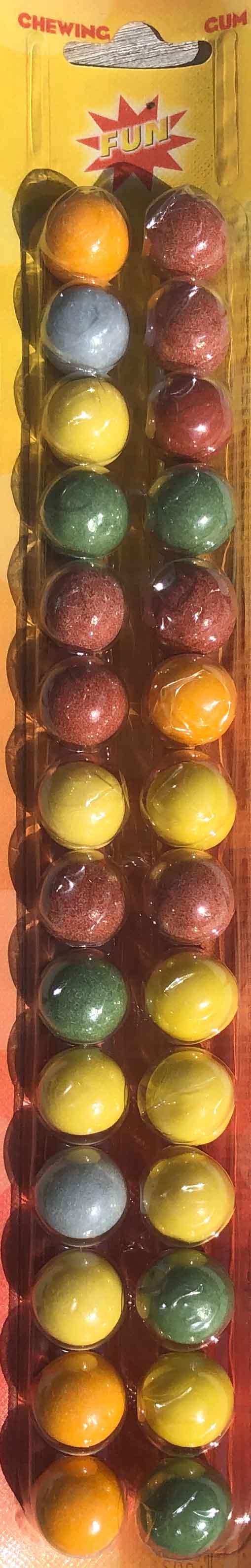 kauwgomballen tellen